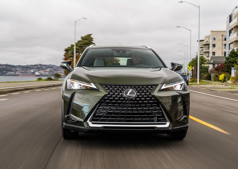 The Lexus UX 200 is a crossover by definition but looks and feels more like a beloved upscale hatchback.