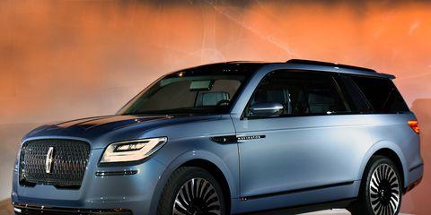 2018 Lincoln Navigator Concept debuts at New York auto show