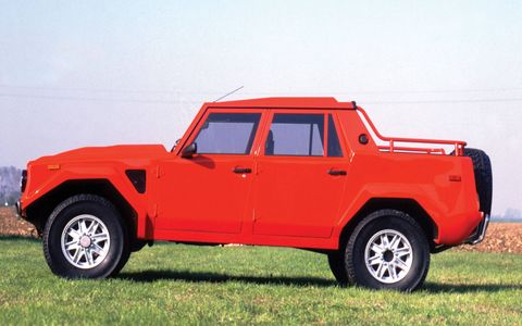 The Lamborghini LM 002 practically invented the segment of big, flashy and fast performance SUVs.