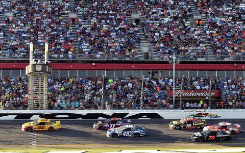 Team Penske driver Joey Logano won the 2015 Daytona 500 on Sunday.
