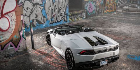 The 2016 Lamborghini Huracan Spyder is a $267,545 exotic ragtop that comes of age