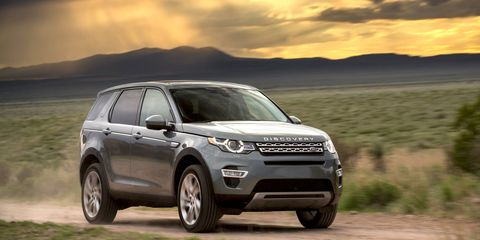 The new Land Rover Discovery Sport will start at $38,920.