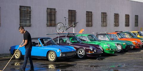 The third annual Luftgekuehlt celebration of air-cooled Porsches had to be the biggest gathering of these cars ever held in Southern California. Thanks to Howie Idelson and Porsche racer Patrick Long for putting it all together.