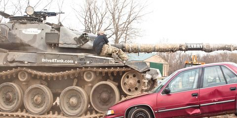 Is there any force that can stop the terrifying power of Larry the Tank?