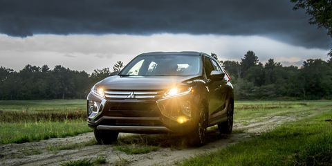 The Eclipse Cross adds to Mitsubishi's lineup of modestly-sized SUVs and crossovers.