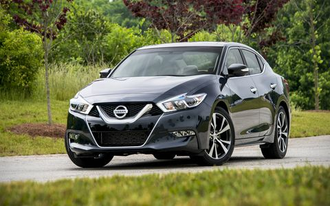The eighth generation Maxima goes on sale in June 2015 as a 2016 model year car.