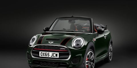 The Mini JCW will wait for you in this dark room while you shovel snow for the next few months.