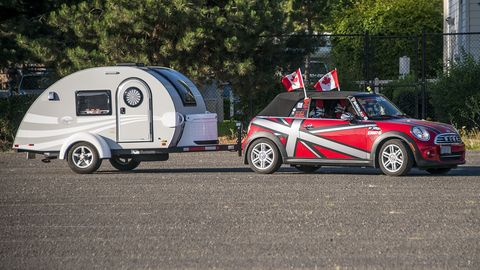 Hundreds of Minis traveled to Colorado from both coasts over the course of nine days, covering hundreds of miles each day.