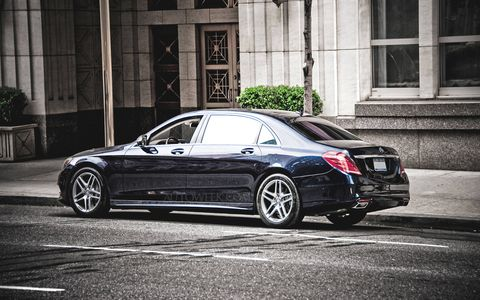 The 2015 Mercedes-Maybach S600 will be based on the existing W222 platform, codenamed X222 for this model, one of four S-class sedan variants.