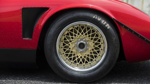 This one-off Miura was modified by the factory to SVR specs in the 1970s, and was recently restored to its former glory.