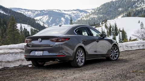 The 2019 Mazda3 serves up surefooted handling and precise steering in a compact sedan wrapper.