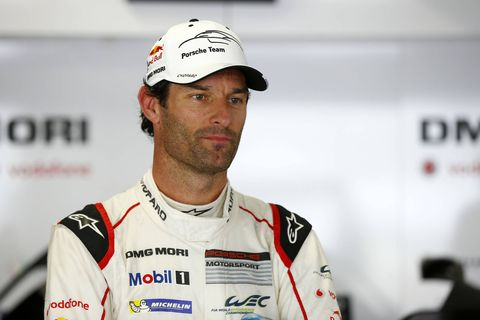 Mark Webber during his successful years in the World Endurance Championship with Porsche