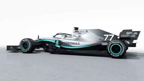 Mercedes kicked off its 2019 Formula 1 season with a test session and reveal of its new car at Silverstone.