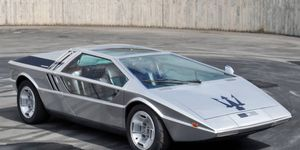 The Giugiaro-styled Boomerang uses Bora mechanicals and requires Jean-Michel Jarre's Oxygene to run properly.