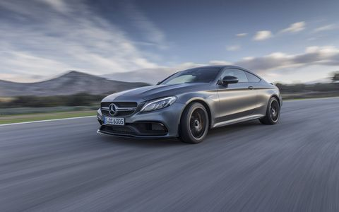The 2017 Mercedes-AMG C63 S Coupe gets a turbocharged 4.0-liter V8 much like the one in the AMG GT S. That's a good thing.