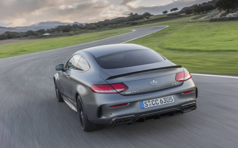 We had the chance to test the 2017 Mercedes-AMG C63 S Coupe on the track and on the road and found it well-suited to both.