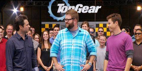 """""""Top Gear USA"""" is done on the History channel, but Rutledge Wood left the door open for it to continue on another network if someone is willing to pick it up."""