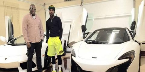 Obi Okeke, co-owner of Fusion Luxury Motors, sometimes delivers cars to boxer Floyd Mayweather at 3 a.m.