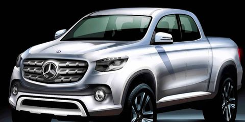 Mercedes-Benz plans to market a 2,200-pound payload truck by 2020.