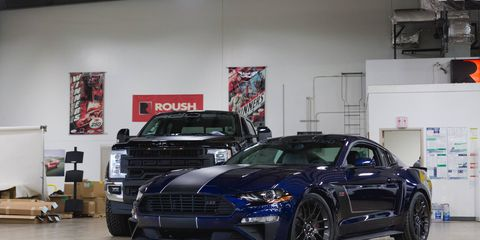 The 2018 Roush Mustang JackHammer makes 710 hp using Ford's V8 and a Roush supercharger.