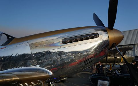 Check out the planes and automobiles at McCall Motorworks Revival by the Monterey airport.