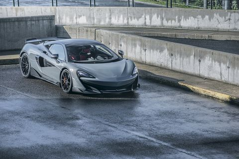 The McLaren 600LT is nearly 3 inches longer than a 570S, leading to more efficient aero.