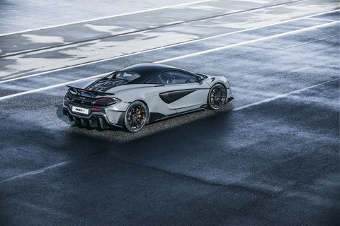 The McLaren 600LT is nearly 3 inches longer than a 570S, leading to more efficient aero