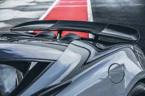 The McLaren 600LT gets improved aerodynamics over the 570S, plus awesome top-exit exhausts
