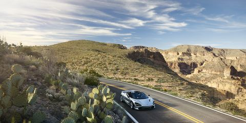 The McLaren 720S Spider will hit dealer lots later this year.