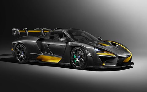 The McLaren Senna Carbon Theme by MSO is one of five special themes that will be offered by MSO.