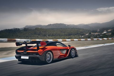 789 hp, 590 lb ft of torque, 2886 pounds, carbon fiber everything, just imagine! The only problem, and it's relatively minor, is that it costs a million dollars.