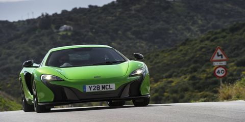 The new Sports Series will slot below this 650S.