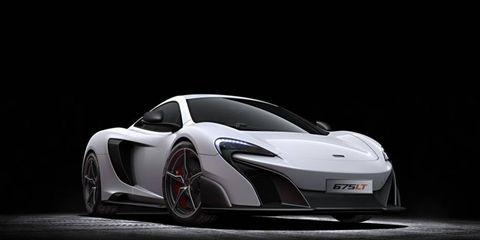McLaren says the 675LT focuses on weight reduction, optimized aerodynamics, more power and track-focused handling.