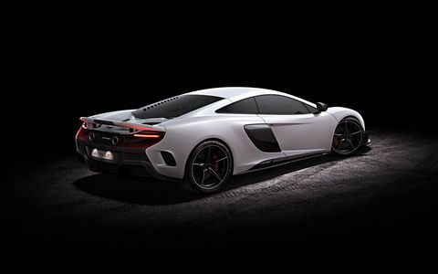 The McLaren 675LT will debut at the Geneva auto show in March.
