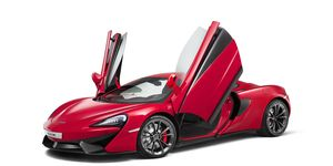 The McLaren 540C Coupe is part of the company's Sport Series and debuted at the Shanghai auto show.
