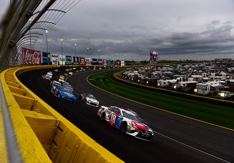 Sights from the NASCAR Coca-Cola 600 at Charlotte Motor Speedway, Sunday May 27, 2018.