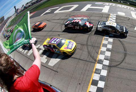 Sights from the NASCAR action at Atlanta Motor Speedway Sunday Feb. 24, 2019