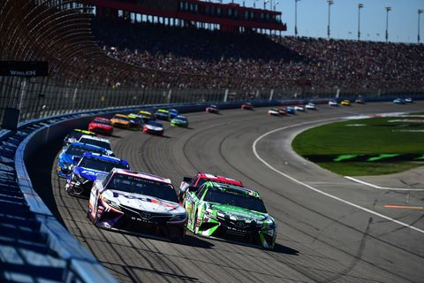 Sights from the NASCAR action at Auto Club Speedway, Sunday March 17, 2019.