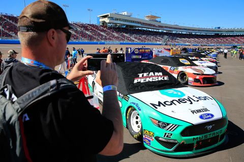 Sights from the NASCAR action at ISM Raceway Sunday March 10, 2019.