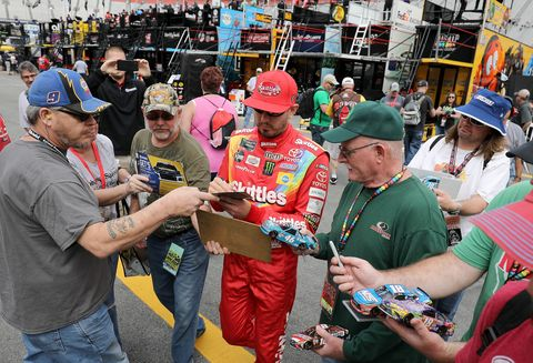 Sights from the NASCAR action at Bristol Motor Speedway Friday Apr. 5, 2019.