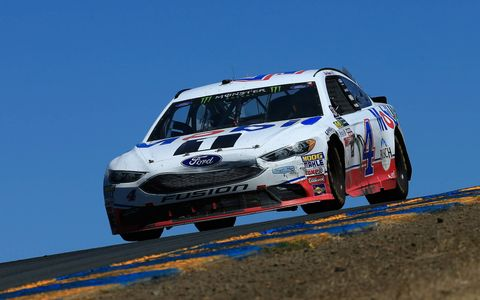 Sights from the Monster Energy NASCAR Cup series action at Sonoma Raceway, Sunday, June 25, 2017