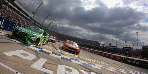 Sights from the NASCAR action at Dover International Speedway, Sunday Oct. 7, 2018.