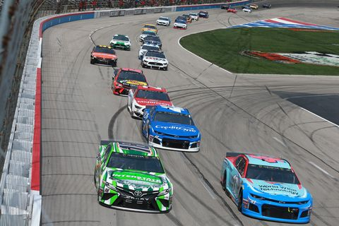 Sights from the NASCAR action at Texas Motor Speedway, Sunday March 31, 2019.