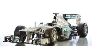 There weren't many changes done between 2012 and 2013, but the front nose was redesigned without the nose cone from 2012.