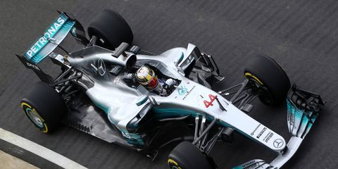 Mercedes F1 unveiled its 2017 Formula 1 challenger on Thursday.