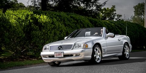 The R129-generation SL-Class debuted at the 1989 Geneva motor show.