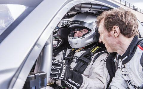 Mercedes AMG GT4 Racecar Interior