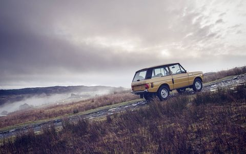 Land Rover Classic will restore the best-surviving project Rangies for a special run of 10 examples.