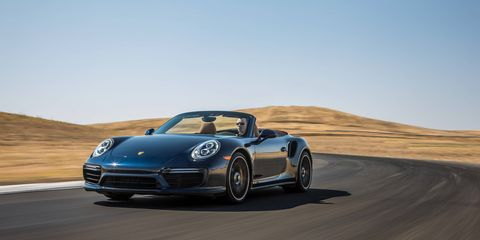 Need some fresh air with your 2017 911 Turbo? Porsche can help you with that...