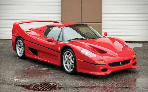 Iron Mike Tyson's not-so-heavyweight Ferrari F50 is up for auction.